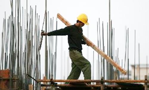 出国建筑工人